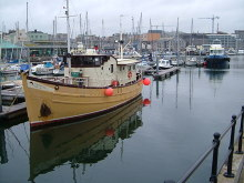 Plymouth, The Faithful in Sutton Harbour, Devon © Derek Harper